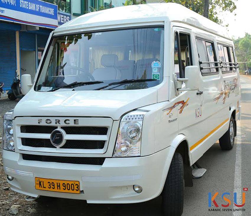 Traveller for hire in Kochi